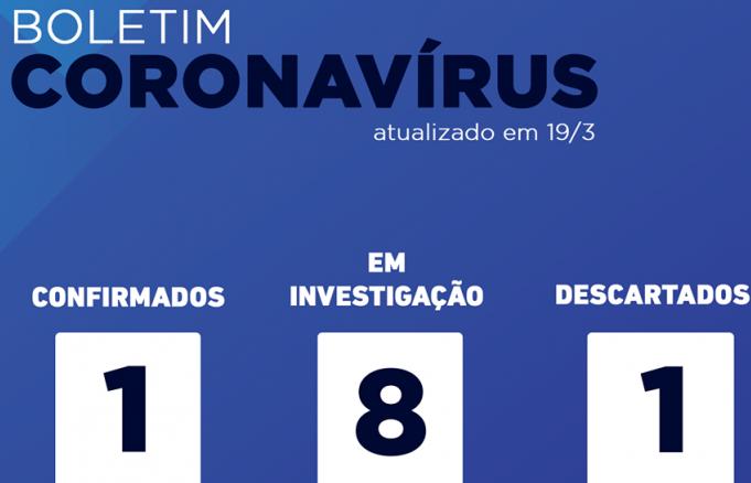 Mariana confirma primeiro caso de coronavírus