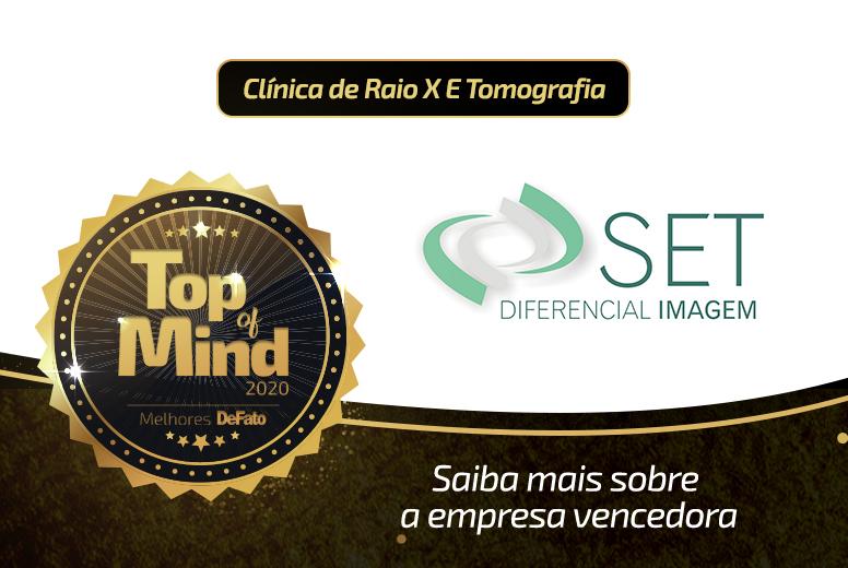 SET – empresa Top of Mind 2020
