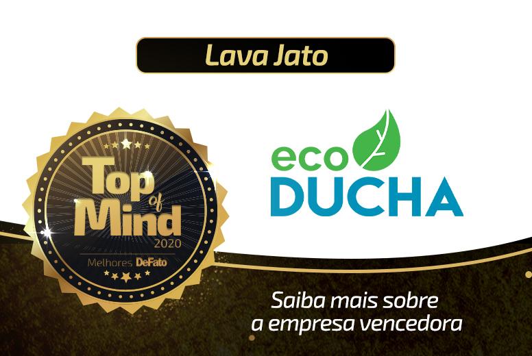 Eco Ducha – empresa Top of Mind 2020