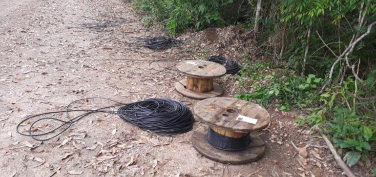 Menor é apreendido após furtar cabos de cobre na área da Vale em Santa Bárbara