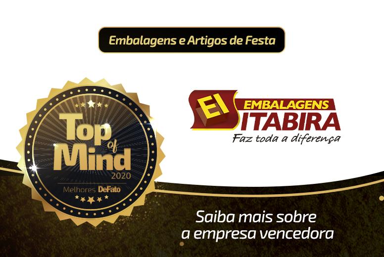 Embalagens Itabira – empresa Top of Mind 2020