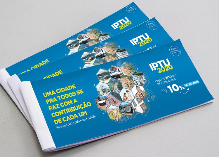 IPTU 2020: carnês começam a ser distribuídos aos contribuintes em Itabira
