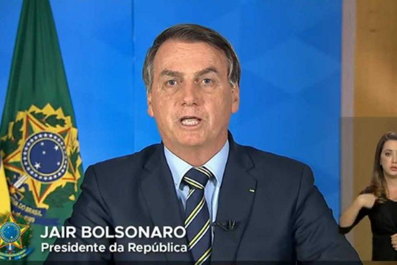 Twitter: governadores, deputados e senadores condenam pronunciamento de Bolsonaro