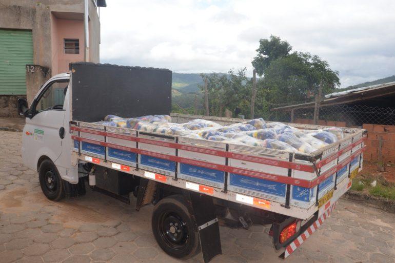 Prefeitura de São Gonçalo distribui quase 700 cestas às famílias vulneráveis