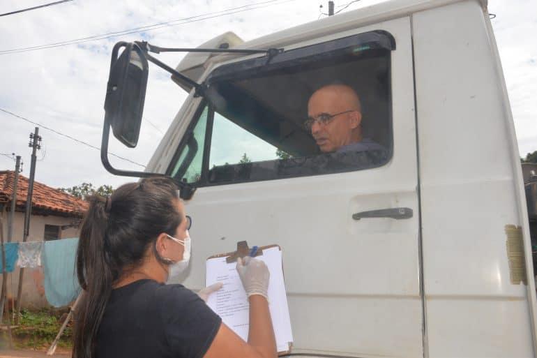 Barreira Sanitária verifica mais de 700 veículos em São Gonçalo do Rio Abaixo