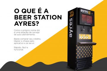 Conheça a Beer Station, aposta da Cervejaria Ayres para levar chopp aos clientes
