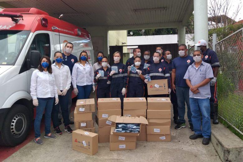 Belmont doa ao Samu 2.500 máscaras de prevenção ao coronavírus