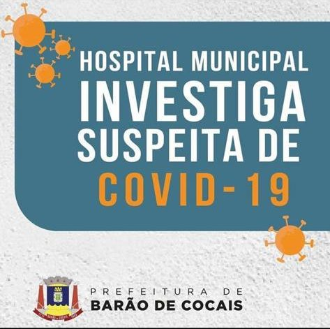 Hospital de Barão investiga paciente com suspeita de Covid-19