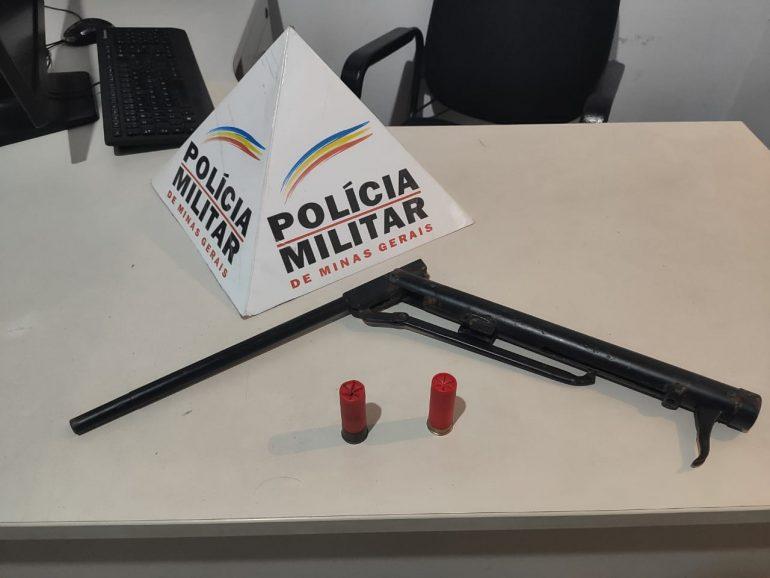 PM apreende arma de fogo após denúncia anônima de caça ilegal em São Gonçalo