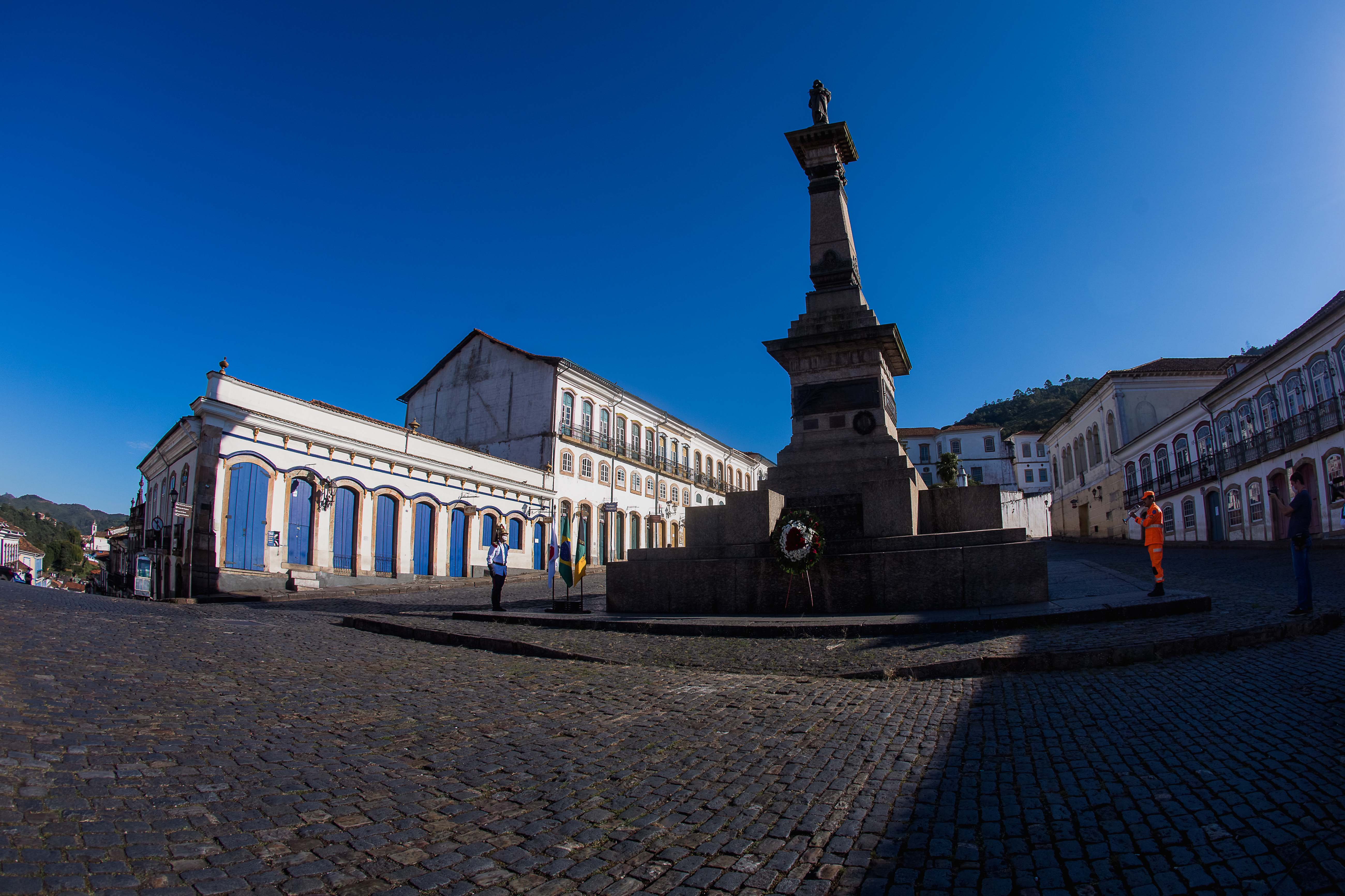 Homenagem ao Dia de Tiradentes em Ouro Preto