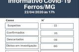 Ferros descarta óbito por coronavírus em idosa que estava internada em Itabira