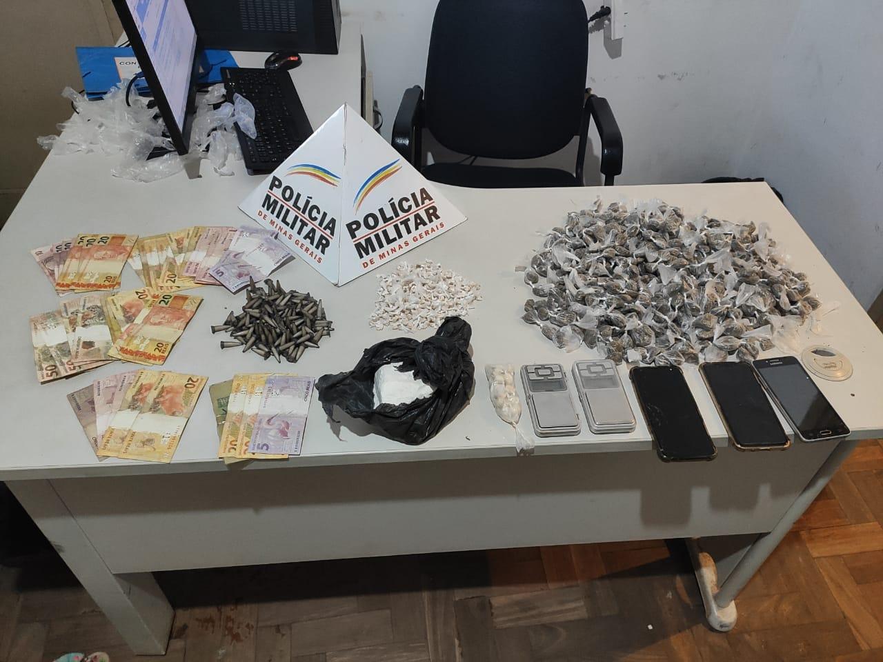 Grupo é detido e quase mil unidades de drogas são apreendidas em São Gonçalo