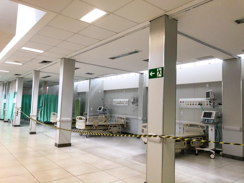 Município investe R$ 400 mil no Carlos Chagas em preparação de espaço para novos leitos