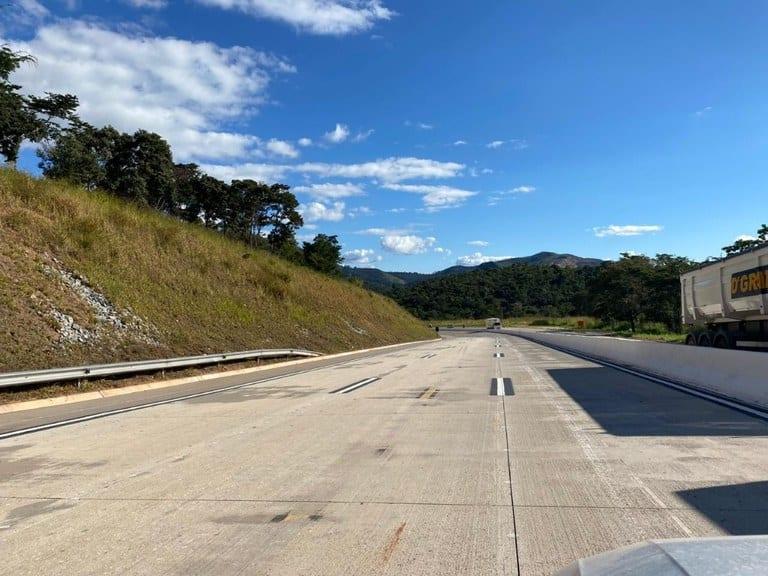 BR-381: Dnit libera seis quilômetros de pista duplicada em Caeté