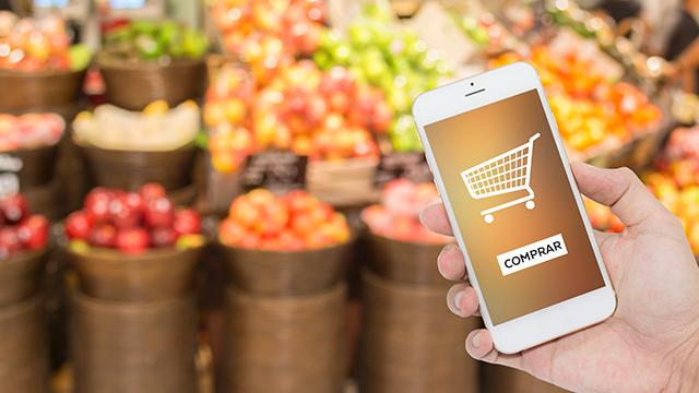 Compras online em supermercado disparam em meio à pandemia