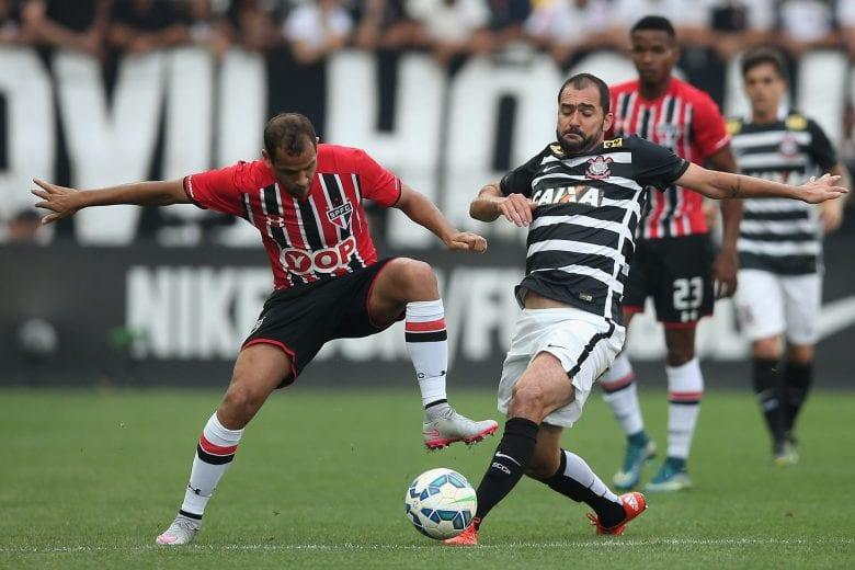 3 jogadores que disputaram mais de 100 jogos por Corinthians e São Paulo