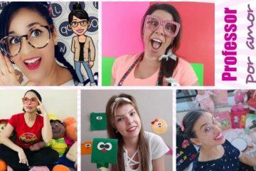 Professora de Barão se junta a outras profissionais em canal que ensina crianças no YouTube