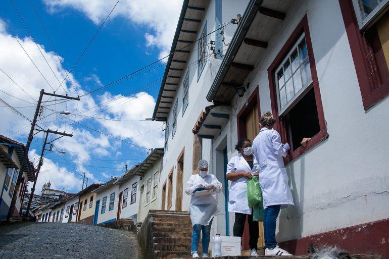 Agentes Comunitários de Saúde retomam visitas domiciliares em Ouro Preto