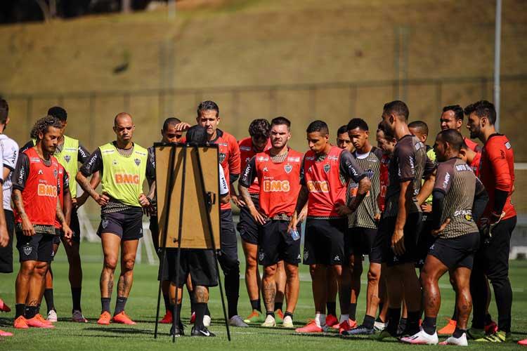 Tardelli não deseja ser centroavante do Atlético: 'Me incomoda um pouquinho'
