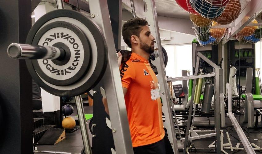 Gabriel, do Atlético, tem lesão no púbis