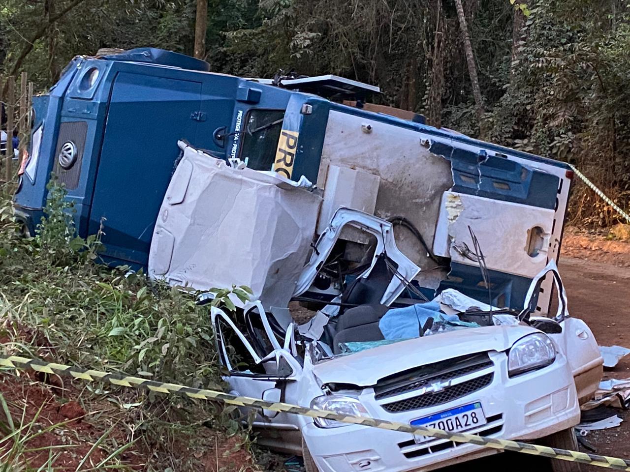 Motorista que teve o veículo esmagado por carro forte residia em Caeté