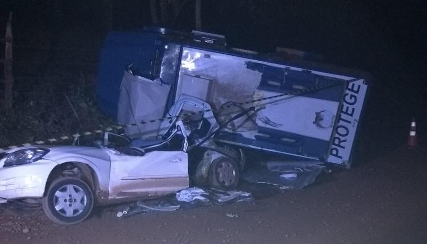 Mulher socorrida após acidente em Barão de Cocais é levada para BH