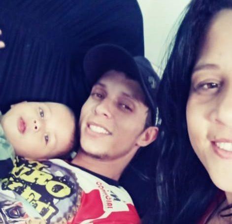 Campanha pede doações para itabirano acompanhar tratamento da esposa e filho, vítimas de explosão