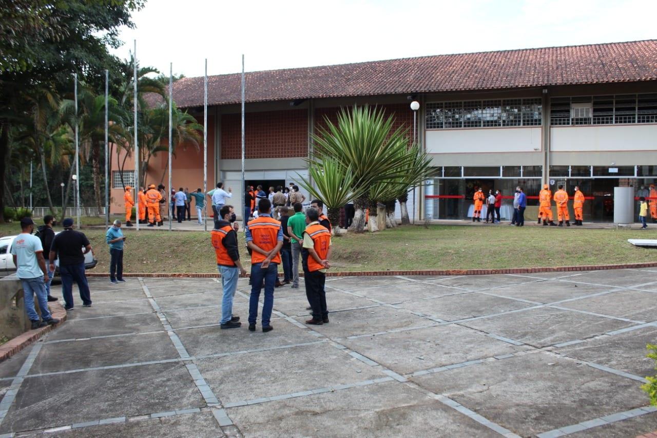 Imagem: Centro Integrado de Segurança Pública em Itabira
