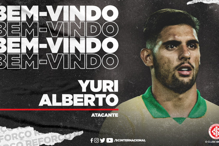 Após reviravolta, Inter faz acordo com Santos e assina com Yuri Alberto até 2025
