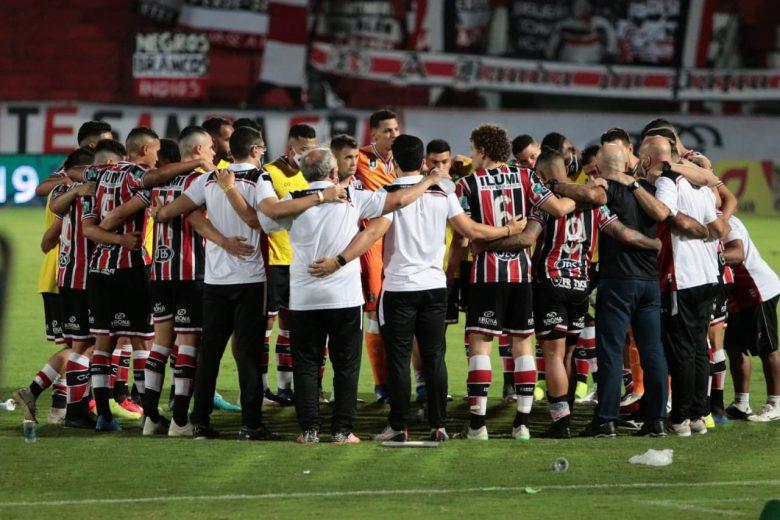 Para reagir rápido e curar ferida do vice, Santa Cruz estreia contra o Paysandu na Série C