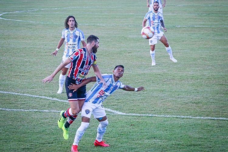 Santa sofre no 1T, se recupera no 2T, mas não sai do 0 a 0 com Paysandu em estreia na Série C