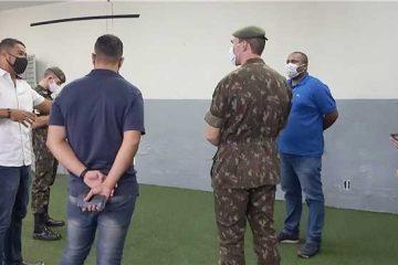 Ipatinga recebe equipe especial do Exército para trabalhos de desinfecção