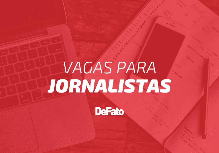 DeFato contrata jornalistas; vagas para Itabira e Barão de Cocais