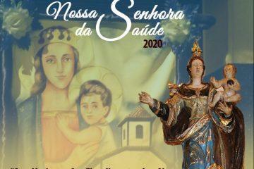 Festa de Nossa Senhora da Saúde começa com celebrações online e presenciais em Itabira