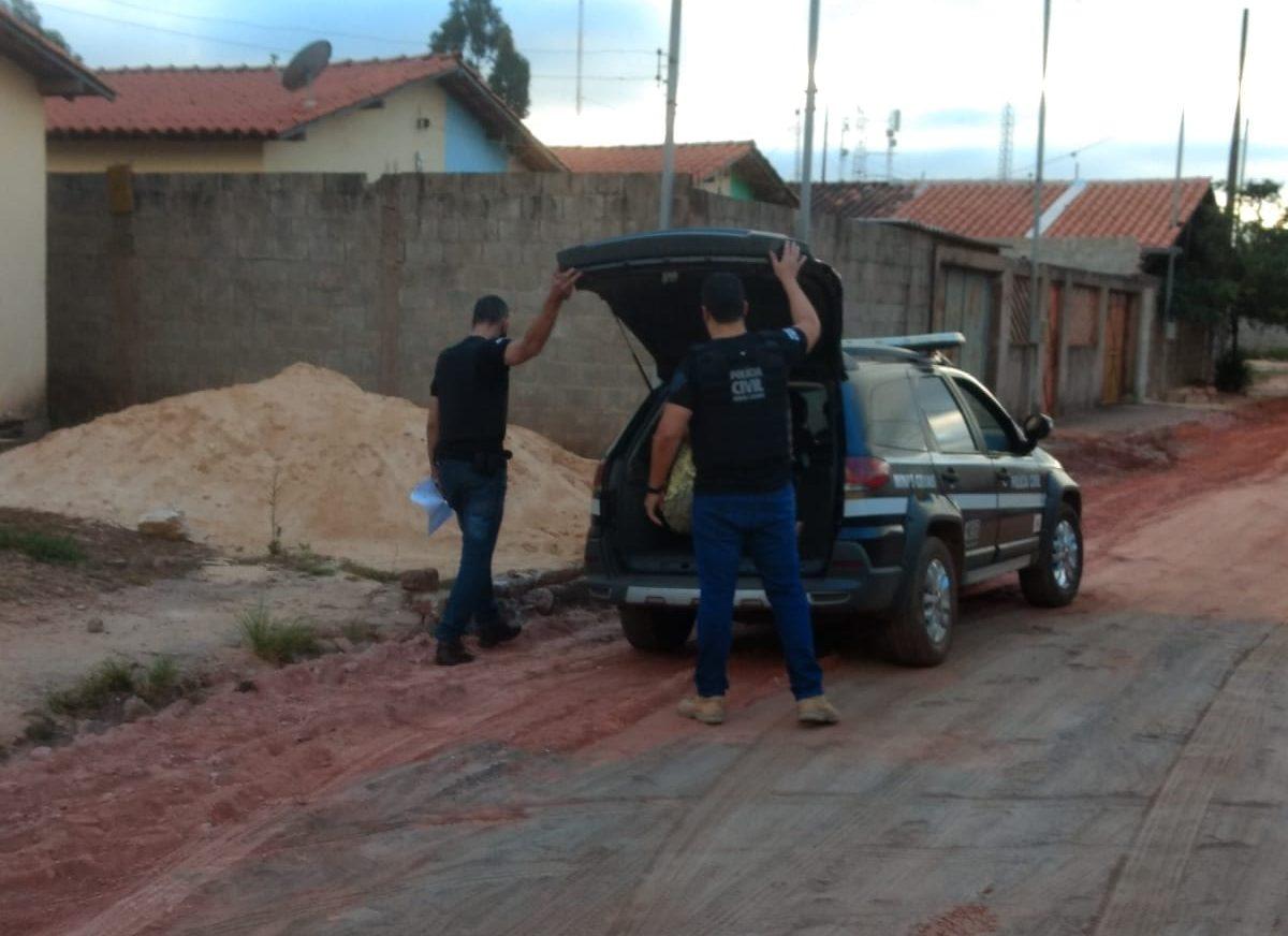Polícia Civil prende homem que descumpriu medida protetiva em Catas Altas