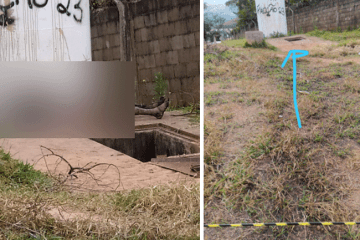 Dois são detidos por participação em morte de homem encontrado carbonizado