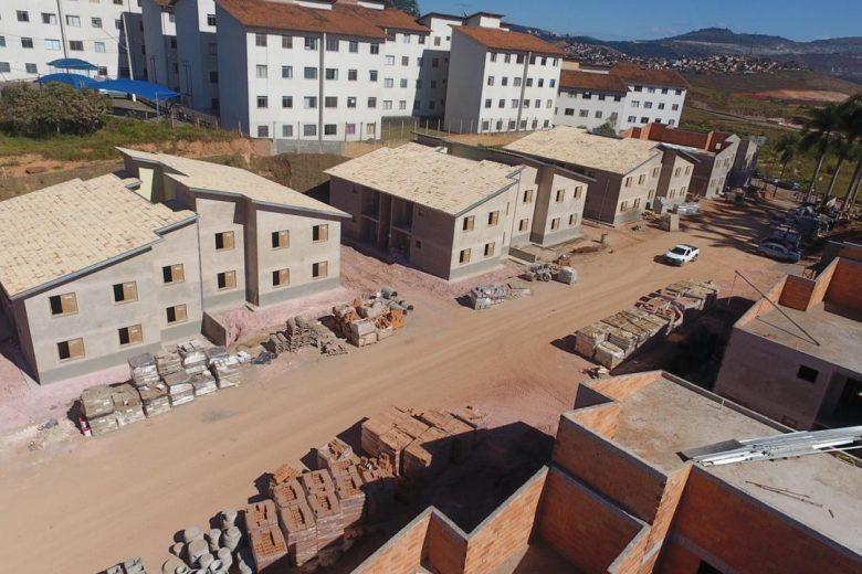 Residencial Estância do Sol em Itabira já tem mais de 70% da obra concluída