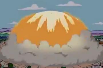 """Internautas viralizam episódio de """"Os Simpsons"""" que 'prevê' explosão em Beirute"""