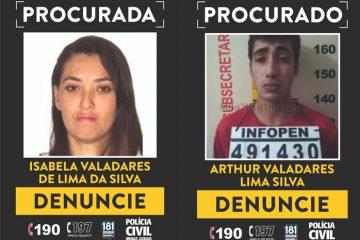 Polícia Civil procura por suspeitos de envolvimento em homicídio