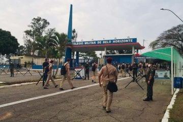 Mesmo após decisão judicial, Colégio Militar de BH retoma aulas presenciais nesta segunda