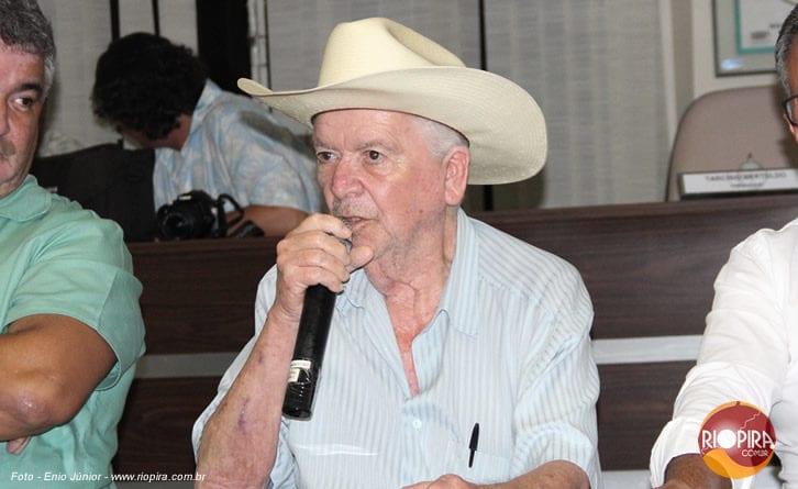 Morre aos 79 anos Antônio Cota, prefeito de Rio Piracicaba