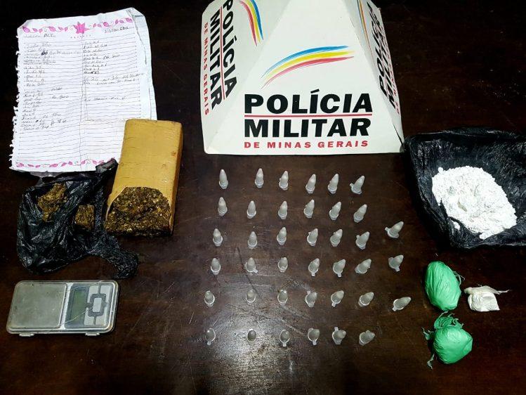 Operação contra o tráfico resulta em apreensão de drogas em Santa Bárbara