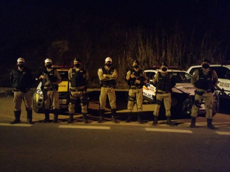 Homem é preso com revólver durante Operação Impacto na estrada de Nova Era