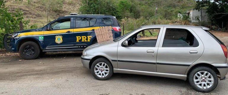 PRF prende suspeitos de roubarem cotonetes na BR-381