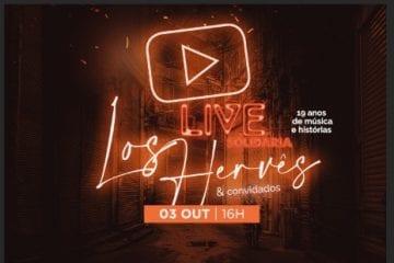 Live de 19 anos do Los Hervês: Grandes empresas que apostaram no projeto