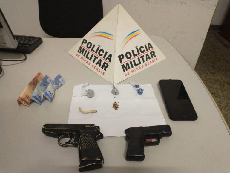Menor de Santa Barbara é apreendido por suspeita de tráfico em Barão