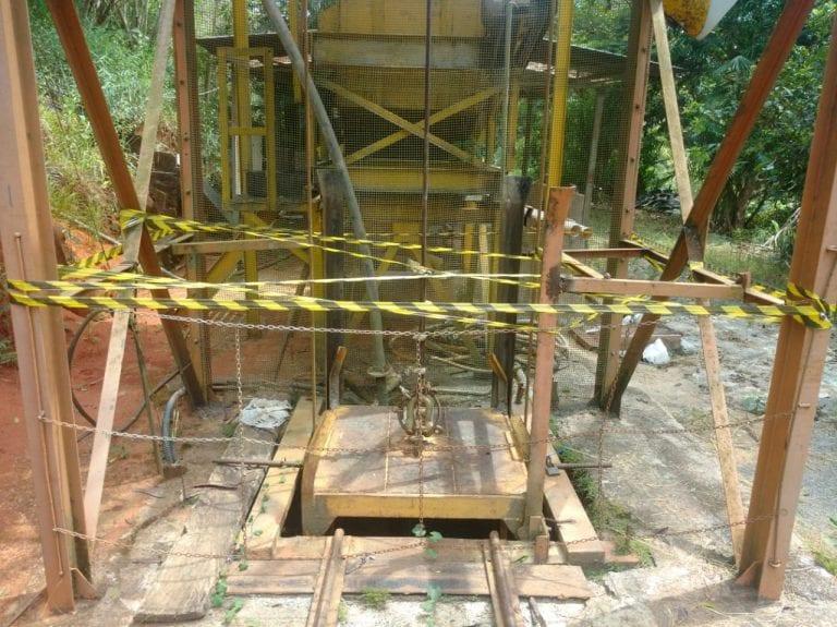 Fechado por três anos, garimpo de Nova Era recebe autorização para minerar