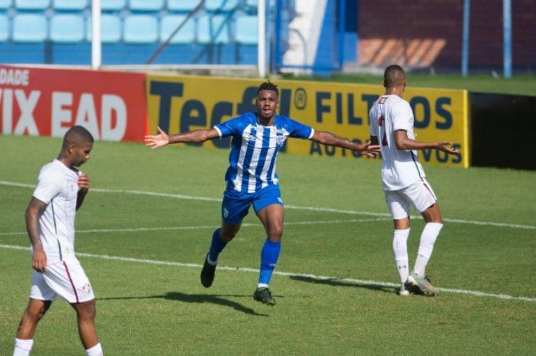 Jogador itabirano decide partida entre Avaí e Fluminense no sub-23