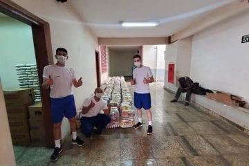 """Polícia Militar realiza """"Sábado Solidário"""" em Barão de Cocais"""