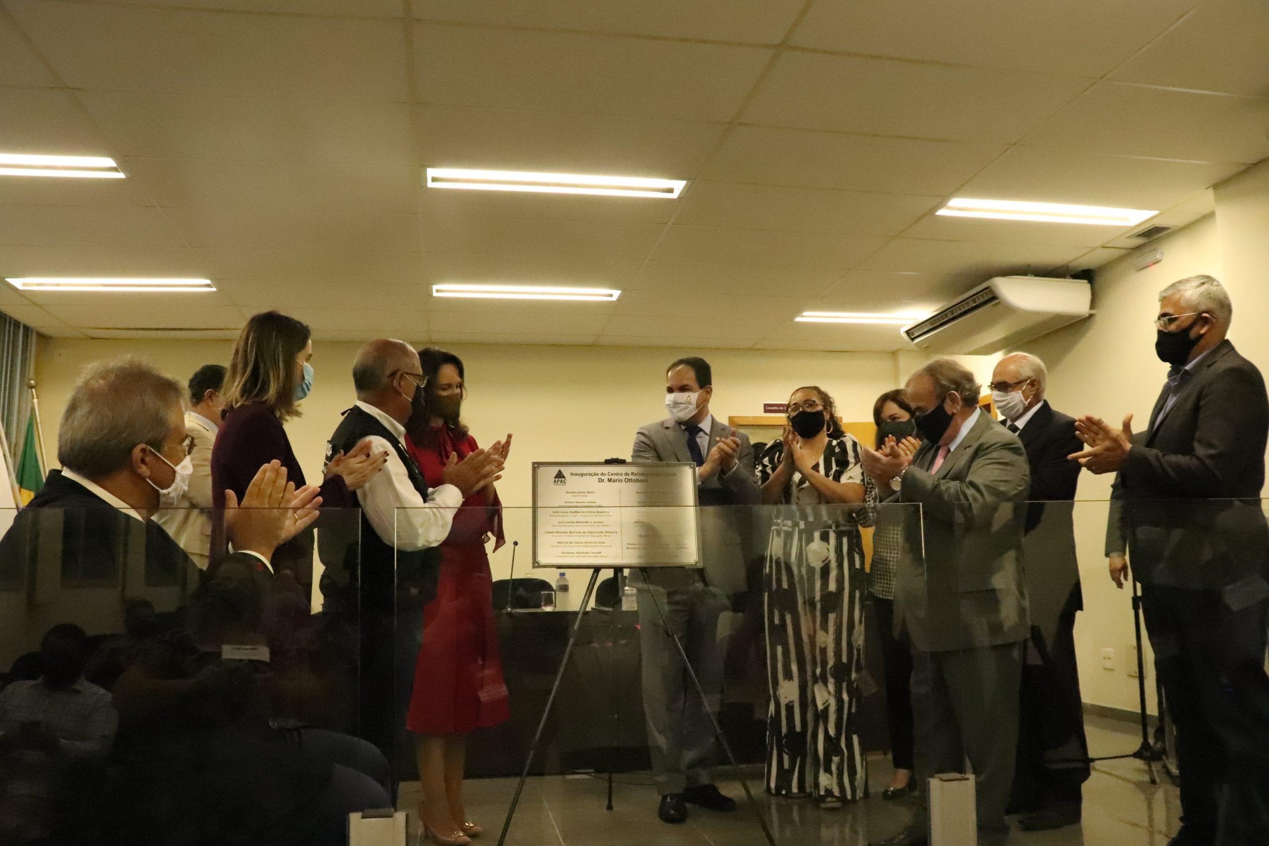 Inauguração de Apac de Itabira